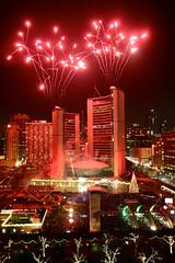 Cavalcade of Lights Fireworks 2012 (suesthegrl) Tags: toronto fireworks cityhall nathanphillipssquare cavalcadeoflights