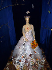 """40) 2012 day of the dead exhibit at somarts; """"our lady of metamorphosis: queen of compassion: transformation""""  artists: sue zupko, kathleen young, diana hamid (nolehace) Tags: sanfrancisco art dayofthedead dead day exhibit dia diadelosmuertos muertos 1012 nolehace fz35"""