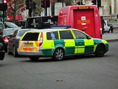 A.L.C Medical (kenjonbro) Tags: uk england london ford 2004 westminster estate trafalgarsquare paramedic charingcross stationwagon sw1 lx mondeo tdci rrv kenjonbro fujifilmfinepixhs10 fx54acz alcmedical