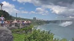 Panoramic Niagara Falls Video (puroticorico) Tags: tower tourism nature water wonder niagarafalls boat waterfall view border tourist niagara falls international gravity rush height