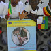 Chldren at the Measles and Polio Campaign-SNNPR