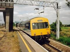 Norton Bridge, 28th July 1992 (elkemasa) Tags: 1992 dmu class101 nortonbridge