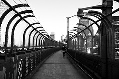 The Grey of the big city (Nuxis [Davide]) Tags: city wales south nsw cbd harbourbridgebwlifelebensydneynew