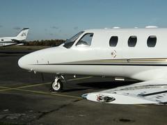 CESSNA 525 CITATIONJET CJ1+ M-TEAM (BIKEPILOT) Tags: flying airport aircraft aviation airfield mteam blackbushe cessna525citationjetcj1 eglk