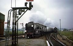 Mod. WC 34001 Exeter passes through at Wareham. Jun'64. (David Christie 14) Tags: railways wareham modwc