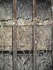 Domfenster Aachener Dom vor dem Trockeneisstrahlen