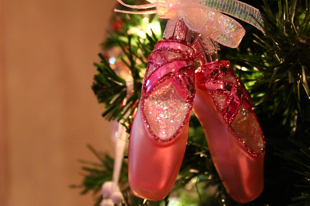 pointe shoes ornament annabellefolsom tags christmas xmas trees decorations ballet tree - Shoe Christmas Ornaments