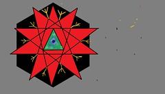 HallowedStar (Hallow One) Tags: red black star order dragon nirvana yang zen astronomy yin hallowed