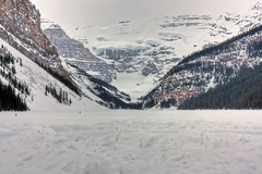 I miss you (JoLoLog) Tags: lake snow canada mountains ice alberta rockymountains lakelouise frozenlake banffnationalpark lorien themostbeautifulplaceonearth thecanadianrockies canonxsi