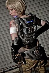 Stroud Shoot (Zadrabug) Tags: nyc 3 brooklyn war cosplay games stroud gears epic anya