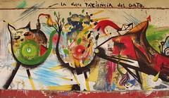 La dulce paciencia del Gato (Felipe Smides) Tags: mural valdivia smides felipesmides