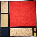 "<b>Composition, 1930 (after: Piet Mondrian)</b><br/> Rebecca Kamm (Art Quilt, 2011)<a href=""http://farm9.static.flickr.com/8199/8242702552_4b1c696c72_o.jpg"" title=""High res"">∝</a>"