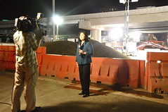 KTVU FOX 2 at the 4th. Street Dig (aquababe) Tags: 4thstreet bryantstreet channel2 ktvu2 janakatsuyama