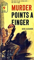 Death Has No Manners (Wires In The Walls) Tags: vintage bondage paperback crime cover 1950s scanned 1953 1315 davidalexander murderpointsafinger bantammystery