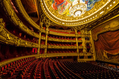 Palais Garnier - Opra national de Paris (chris.chabot) Tags: paris france opera stage performance seats palaisgarnier opranationaldeparis