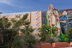 Barrio Anita Mural (bo mackison) Tags: arizona southwest mural tucson publicart barrios tucsonarizona ussouthwest barrioanita christmasinthebarrio barrioanitamuralproject