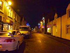 Christmas lights Dunrobin Street 2012 (Helmsdale.org) Tags: christmas david scotland mason christmaslights sutherland 2012 helmsdale gx1 davidmason helmsdaleorg dunrobinstreet helmdaleorg canongx1