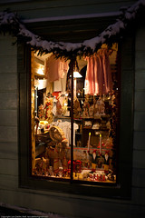 Sales window, old fashion (Lars Dahlin) Tags: christmas december sweden christmasfair jamtli stersund julmarknad