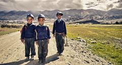 Hanle School Kids. (Prabhu B Doss) Tags: travel school portrait india kids clouds photography village himalayas ladakh hanle prabhub prabhubdoss zerommphotography 0mmphotography