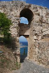 Eingang zur Burg (flschen) Tags: greece griechenland balkan koroni messinia messini