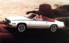 1984 Cadillac Eldorado Biarritz Convertible (aldenjewell) Tags: postcard convertible cadillac eldorado 1984 biarritz