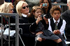 Deborra-Lee Furness with Ava and Oscar Jackman Hugh Jackman is honoured with a Hollywood Star on the Hollywood Walk of Fame Los Angeles, California