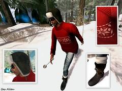 TOURING THE SNOW (Satine Rabeni & Casasreais Allen) Tags: outfit gorro free jersey gafas marketplace botas pantalon ydea regalodegrupo focusposes
