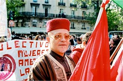 International Workers' Day (Gwenaël Piaser) Tags: color film analog 35mm canon photography eos gold iso200 reflex workers day place kodak protest may 200asa 200iso international negative 200 analogue bastille canoneos couleur manif 2012 argentique negatif eos50e placedelabastille c41 kodakgold200 gold200 1ermai canoneos50e 35mmf14 canonelaniie 35l elaniie canonef35mmf14lusm ef35mmf14lusm unlimitedphotos gwenaelpiaser kodakgb2007 eos55p canoneos55p