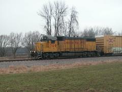 Down and dirty (BigJ1991) Tags: up creek train adams pacific sub union johnson locomotive wi clyman