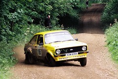 Dennis / Jones - Escort RS MkII - Watchwood 2 - Dukeries Rally 2012 (74Mex) Tags: 2 jones rally dennis rs escort 2012 mkii dukeries watchwood