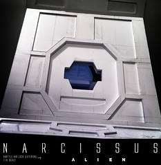 NARCISSUS70 (sith_fire30) Tags: alien narcissus nostromo lifeboat shuttle diorama covenant aliens xenomorph beast styrene ship building scratch custom action figure sculpting prometheus giger ridley scott