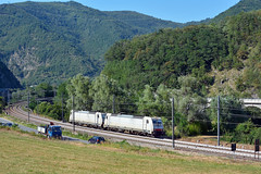 Serfer E483 021 e 022 (Maurizio Boi) Tags: 483 21 486 022 autoritportualedisavona aps cargo treno train rail railway railroad ferrovia locomotiva locomotive italy serfer