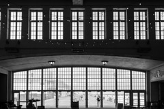 I'm Inside Looking Out; She's Outside Looking In (psinderbrand) Tags: asburypark boardwalk newjersey conventionhall