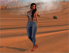 LOOK #13 @UBER (Gabriella Corpur) Tags: second life taketomi friday catwa maitreya fashion uber villena miss chelsea omen poses