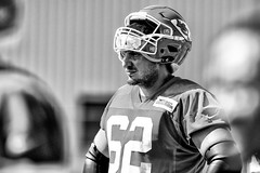2016 Faces of Training Camp-208 (Mather-Photo) Tags: 2016 andrewmather andrewmatherphotography blackandwhite chiefs chiefskingdom chiefstrainingcamp closeup colorless faces football helmetoff kcchiefs kansascitychiefs matherphoto monochrome nfl sportsphotography summer team trainingcamp