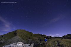 Here I am! (Vincenzo Giordano) Tags: montesagro alpi apuane night stars milkyway long exposure perseids golfodeipoeti cave marmo notturna tramonto nikon d7000 tokina 1116