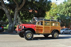 20th Annual La Verne Cool Cruise (USautos98) Tags: 1949 dodge powerwagon woodie woody firetruck