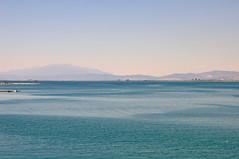 DSC_0942 (marcobasic) Tags: thassos greece grecia sea mare lungomare panorama seaside seagul gabbiano
