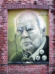 Rocket01 Patrick Moore Mural, Sheffield (Dave_Johnson) Tags: rocket01 patrickmoore astronomy mural graffiti streetart sheffield southyorkshire art