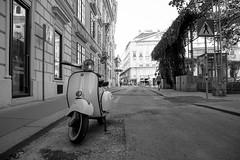 Vespa (A.Dirl) Tags: vienna street city explore vespa