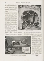 1907-12-01. Le Sport universel illustr 804 (foot-passenger) Tags: salondelautomobile 1907 france bnf gallica
