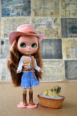 Blythe Urban Cowgirl, Sunshine Holiday (Nika-Nika) Tags: blythe blythedoll blytheurbancowgirl blythesunshineholiday sunshine holiday urbancowgirl