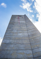 BUZLUDZHA-3 (RAFFI YOUREDJIAN PHOTOGRAPHY) Tags: buzludzha bulgaria spaceship soviet architecture ruin graffiti communist derelict abandoned relic distasteful building monument