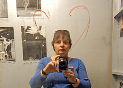 Self Esteem (Antropoturista) Tags: poland krakau krakow mocak museum contemporary art self ego heart autoretrato museumgoer