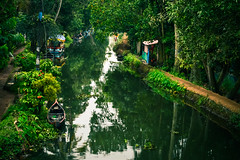 Heaven, God's own country! (yugantarora) Tags: landscape boat reflection nikon love india moment landscapes countryside kerala backwaters heaven canal photography greens houseboat alleppey picoftheday godsowncountry incredibleindia photoofday instapic allapuzha travelindia travelcaptures indiainmylens flickr indiaimages indiapictures indiaheritage keralatrip traveldiaries keraladiaries trip lovekerala loveindia indiatrip green landscapephoto landscapeofday southindia backwater