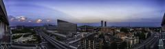 Otro cielo de Miln (libretacanaria) Tags: miln milano ciudad city urban urbano italia italy noche night