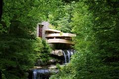 _DSC0451 (kswansunshine) Tags: wright architecture fallingwater nature waterfall pennsylvania franklloydwright