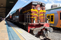 4520 + 3642 Shuttles -2332 (Matty 8o) Tags: railway railways rail train trains enthusiast travel travelling trainspotting new south wales newsouthwales nsw australia australian photograph photo photography transport transportation canon700d canon 700d outdoor vehicle spotter spotting trainspotter trainphoto trainphotography railwayphotography weather sydney suburb mainline 1855mm 1855 syd central 45 class 4520 ae goodwin auburn dieselelectric alco 12251c operational preserved