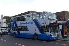 WA56FTO First Somerset and Avon 33416 (neiljennings51) Tags: bus psv pcv portishead somerset first avon alexander dennis trident enviro 400 express yourself x3