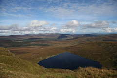Lough Ouler (Chris*Bolton) Tags: lough ouler lake scenery landscape view wicklow wicklowmountains hills sky clouds horizon ireland